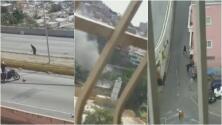 Varios heridos tras enfrentamientos armados entre grupos criminales y autoridades en Caracas, Venezuela