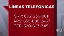 Líneas telefónicas disponibles si te quedaste sin servicio de energía eléctrica
