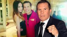 """Julio César Chávez genera polémica al decir que él convenció a Belinda para que """"pelara"""" a Christian Nodal"""