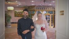 Jomari Goyso lleva al altar a una novia y le regala el día más feliz de su vida