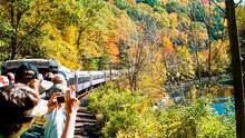 Estos son los paseos en tren que no puedes perderte en Pensilvania durante el otoño