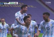 ¡Colombia, en los laureles! Pase de Messi y Lautaro marca el 1-0