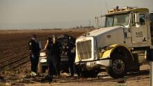 Exceso de velocidad, un incendio previo y tráfico humano: las nuevas pistas sobre el accidente en California
