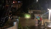 Desbordamiento del Río Viví a causa de la tormenta Peter provoca inundaciones y deslizamientos en Utuado