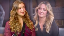 Mia Rubín casi hace llorar a su mamá, Andrea Legarreta, con este comentario