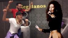 Con una canción de Selena, Geraldine Bazán demuestra que, aunque es mejor actriz que cantante, está feliz