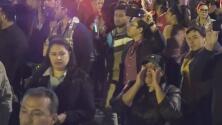 """""""Hondureño aquí no te queremos"""": El grito de algunos mexicanos que protestaron en Tijuana por la llegada de migrantes"""