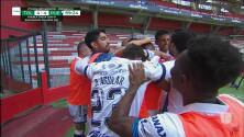 ¡GOOOL! Daniel Alvarez anota para Puebla.