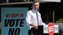¿Podría ser decisivo el voto latino para definir si se revoca o no al gobernador de California, Gavin Newsom?