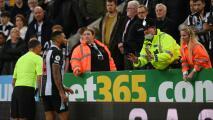 Suspenden el Newcastle-Tottenham por emergencia médica