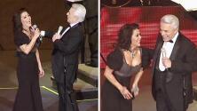 Alejandra Guzmán fue la invitada de honor al festejo de 60 años de carrera de su papá Enrique Guzmán