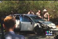 Niñas de 7 y 9 años mueren en un accidente automovilístico en Petaluma