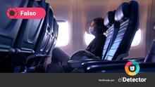 ¿Los vacunados contra el covid-19 no pueden viajar en avión debido al riesgo de coágulos de sangre?