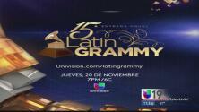 ¡Todo listo para la entrega de los Latin GRAMMY!