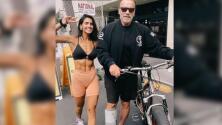 Bárbara de Regil presume en las redes sociales su fotografía con Arnold Schwarzenegger