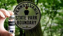 La vacuna contra el coronavirus llega a los parques estatales de Pensilvania