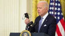 """""""Creí que la gente entendería que vacunarse hace una diferencia enorme"""": la tajante respuesta de Biden a un reportero"""