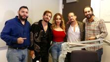 Mau y Ricky se divirtieron con los locutores de El Free-Guey Show
