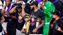 ¡MVP! ¡MVP! ¡MVP! LeBron elegido como el mejor de las NBA Finals