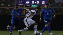 El Salvador dejó escapar el triunfo ante USA