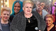 Paquita la del Barrio responde a las muestras de cariño que recibió de artistas como Bad Bunny y Karol G