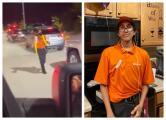 """""""Un día normal de trabajo"""" volvió famoso en TikTok a un estudiante de Texas"""