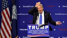 Donald Trump dice que no usa peluquín