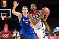 Kevin Durant impone récord olímpico con USA