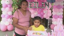 La emotiva celebración de cumpleaños de Kailin, la niña separada de su abuela en la frontera
