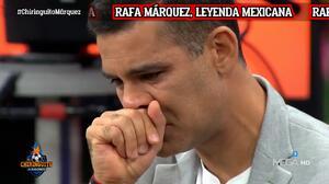 "Rafa Márquez, entre lágrimas: ""No logré algo importante con mi selección"""