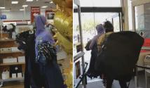 Captan en video robo descarado en tienda Tj Maxx de California