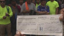 Trabajadores de la construcción denuncian que su empleador no les paga salario hace más de un mes