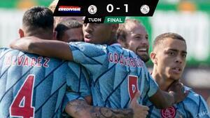 Inicia Ajax su paso en la Eredivisie con un triunfo