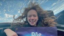 """""""Me sentí con gratitud"""": Hayley Arceneaux narra cómo fue su experiencia en el espacio con la misión Inspiration4"""