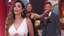 Lourdes recuerda que por la emoción al presentar a Jomari en Mira Quién Baila casi le pega a Borja Voces