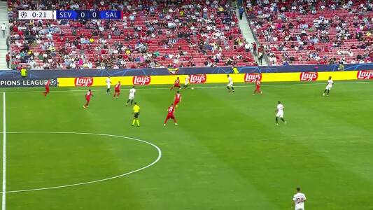 Resumen del partido Sevilla vs FC Red Bull Salzburg
