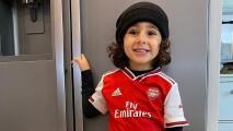 Arsenal fichó a su talento más joven… tiene cuatro años