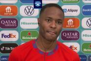 """Sterling asegura que con """"buen espíritu"""" Inglaterra volteó el marcador"""
