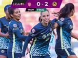 América obtiene complicado triunfo ante Necaxa en la Liga MX Femenil