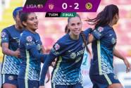 Resumen   América Femenil supera 0-2 a Necaxa y mantiene el invicto