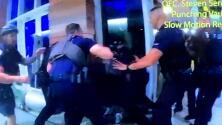 Este es el video por el que varios policías de Miami Beach fueron suspendidos luego de un violento arresto