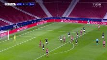 ¡GOOOL! Joao Félix Sequeira anota para Atlético de Madrid.