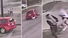 Autoridades buscan identificar a sospechoso de arrastrar a una mujer durante robo
