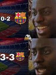 Barcelona deja ir una importante victoria frente al Levante y los memes salen de su cueva para restregárselo en la cara.