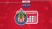 ¡Peligroso! Así está el calendario de Chivas en el Guard1anes 2021
