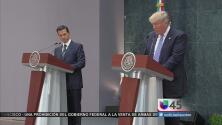 Líderes políticos de Houston analizan los motivos de Trump para visitar México