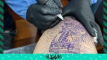 Ángel di María se hizo un tatuaje con la Copa América