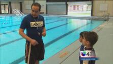 Seguridad en piscinas durante fin de semana feriado