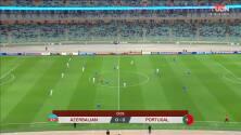 Resumen del partido Azerbaiyán vs Portugal
