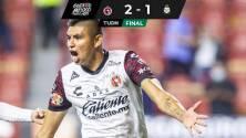 Xolos con un penal dudoso obtiene ante Santos su primer triunfo del torneo